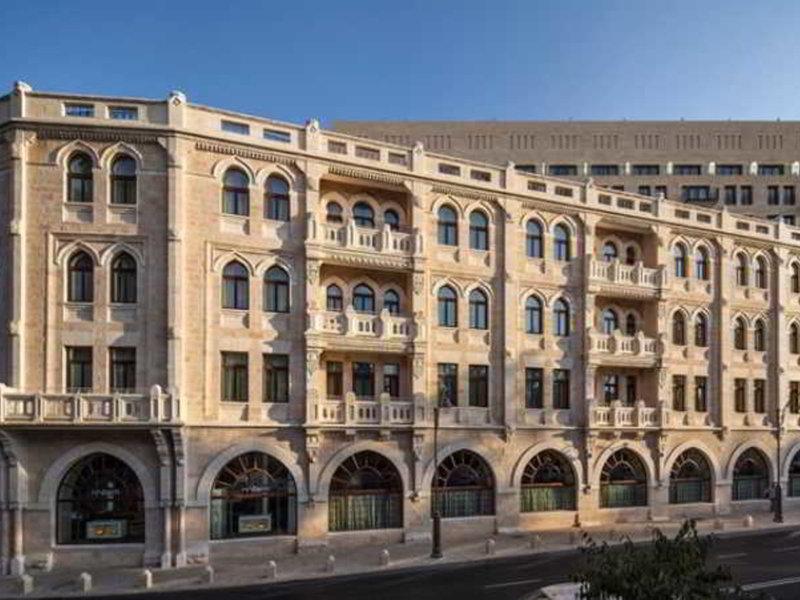 Waldorf Astoria Jerusalem Außenaufnahme