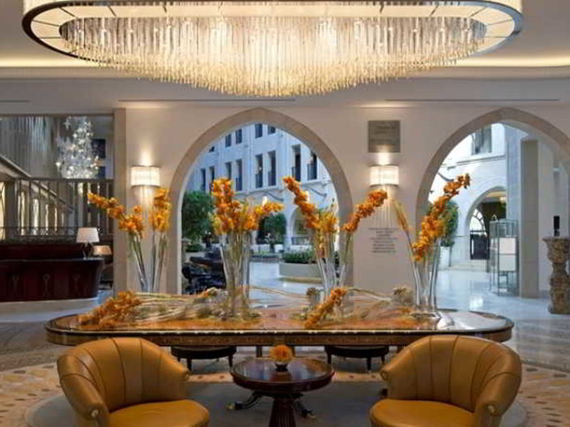 Waldorf Astoria Jerusalem Restaurant