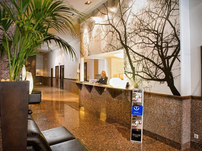 Sercotel Apartamentos Mendeba Lounge/Empfang