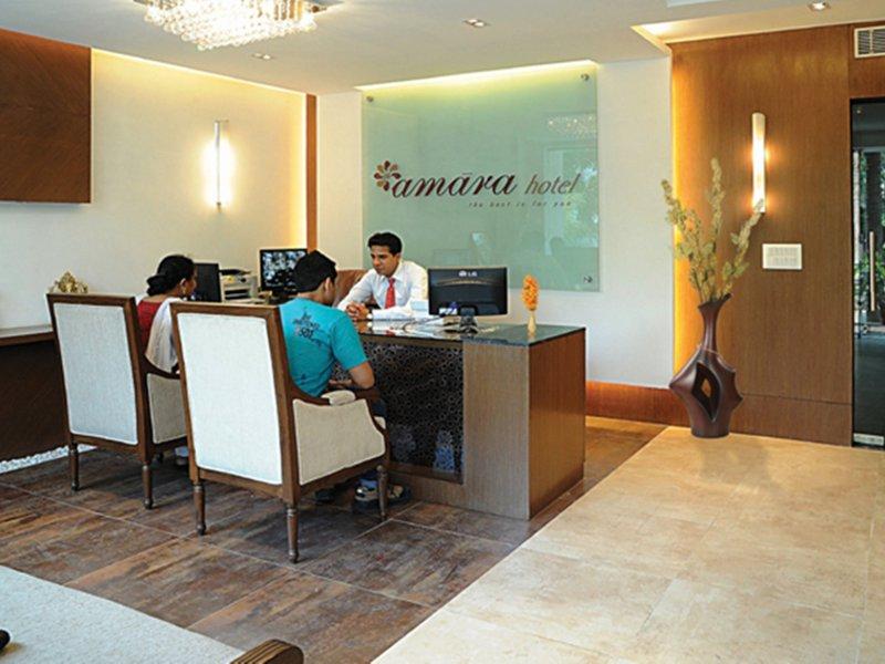 Amara Hotel Lounge/Empfang