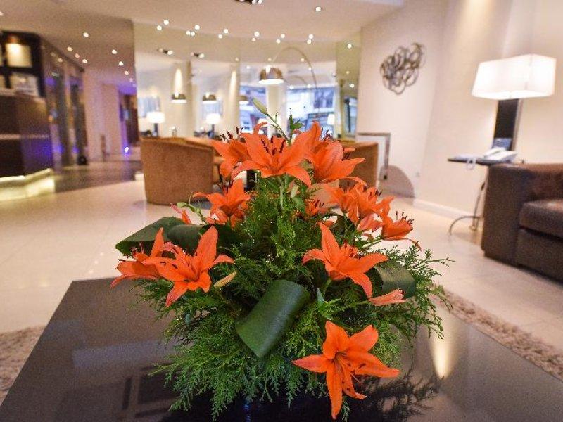 Hotel Denver Lounge/Empfang