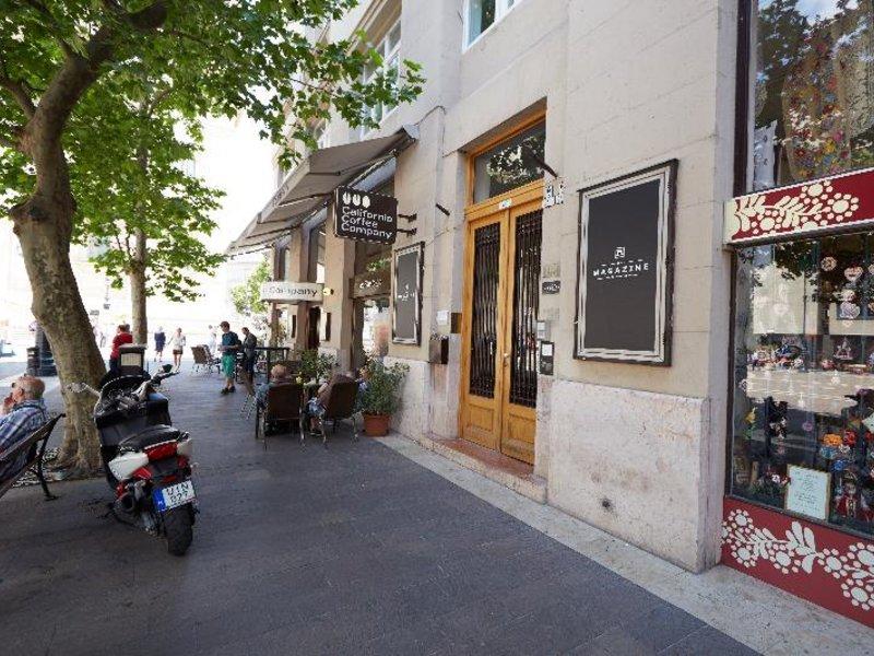 The Magazine Hotel & Apartement Außenaufnahme