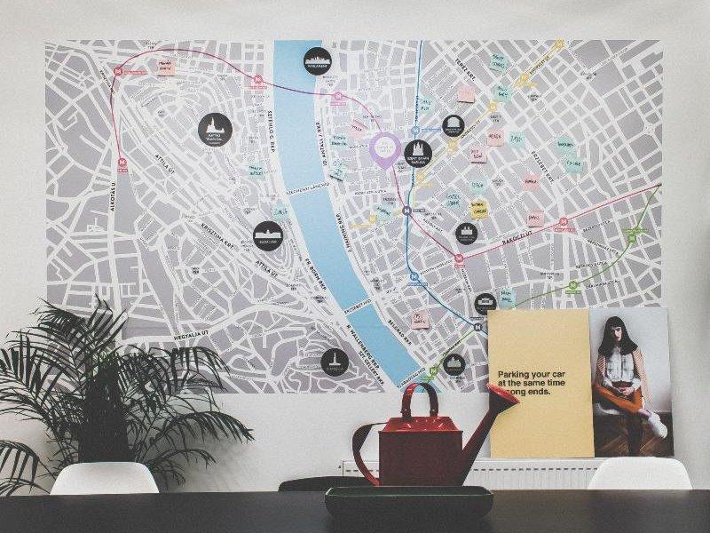 The Magazine Hotel & Apartement Landkarte