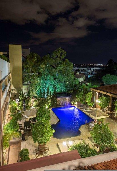 Las Ventanas Suites Hotel Garten