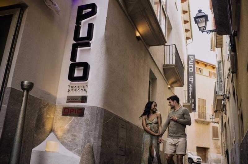 Puro Hotel Palma Außenaufnahme