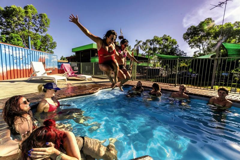 Haven Backpacker Resort Pool