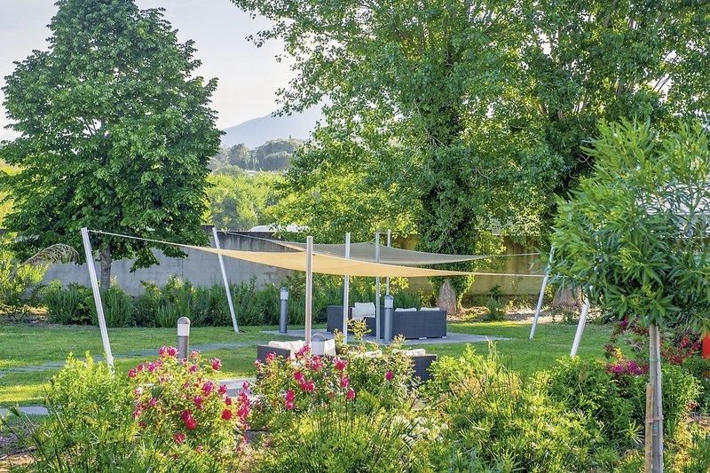 Residence Suite Home Porticcio Garten