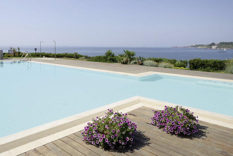 Dei Pini Hotel Terrasse