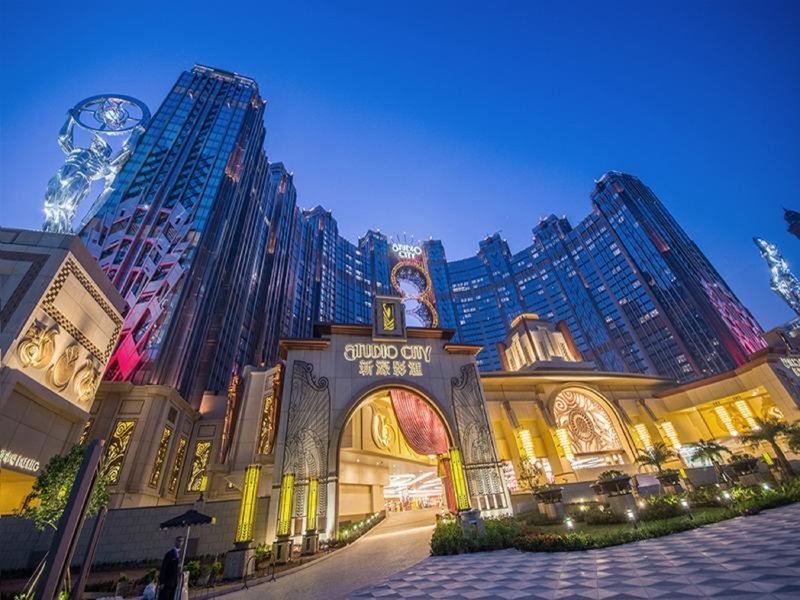 Studio City Macau Außenaufnahme