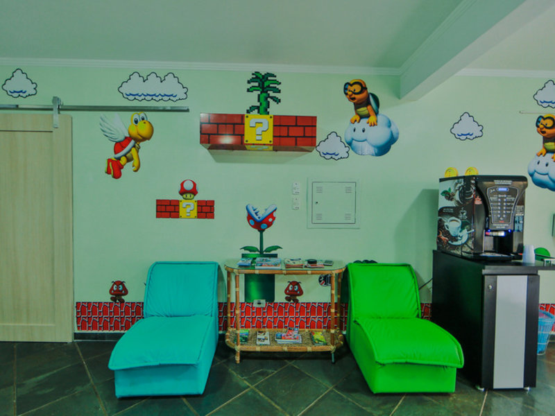 Pousada Evelina Lounge/Empfang