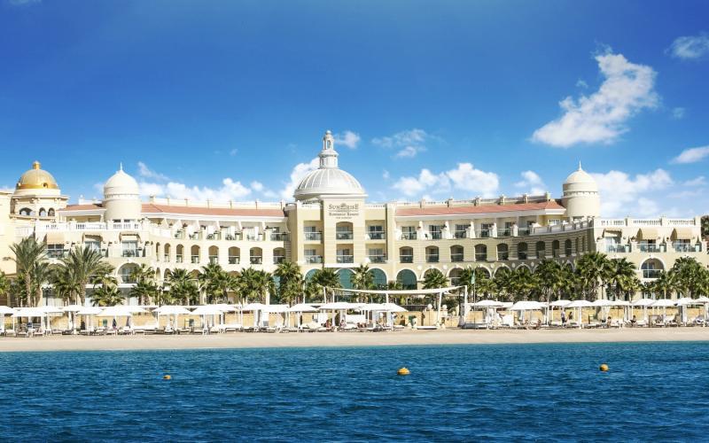 SUNRISE Grand Select Romance Resort Sahl Hasheesh - Erw. Außenaufnahme