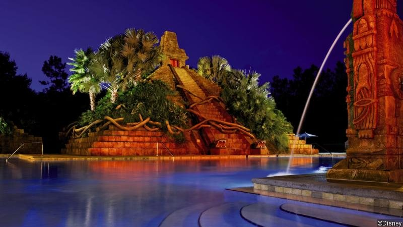 Disney´s Coronado Springs Resort Landschaft