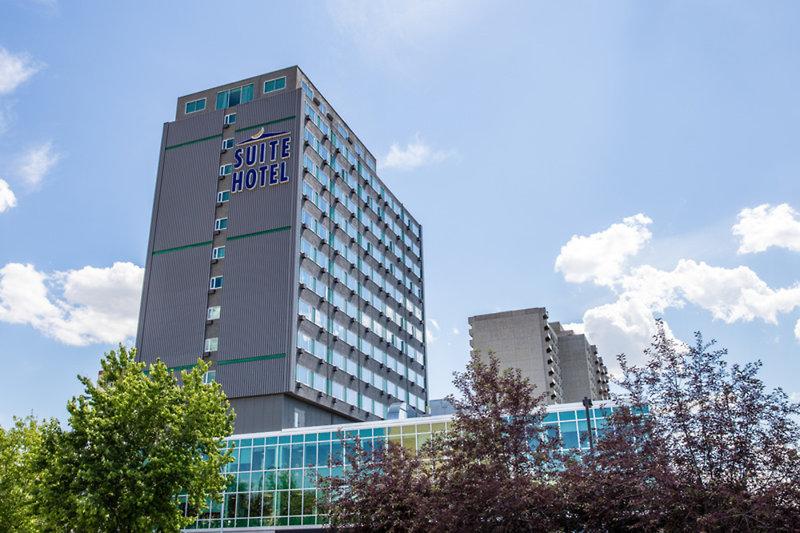 Campus Tower Suite Hotel Außenaufnahme