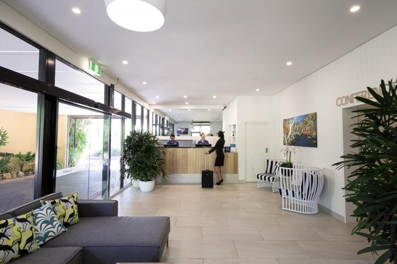Palms City Resort Lounge/Empfang