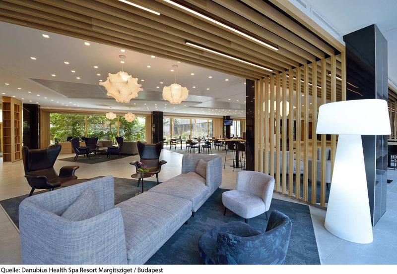 Danubius Health Spa Resort Margitsziget Lounge/Empfang