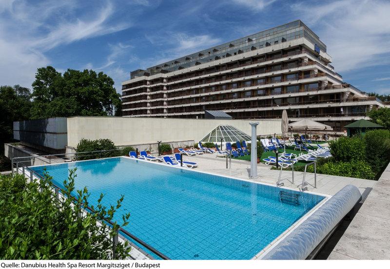 Danubius Health Spa Resort Margitsziget Pool