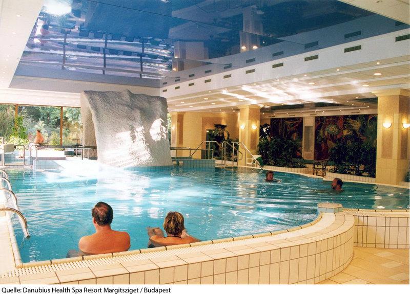 Danubius Health Spa Resort Margitsziget Hallenbad