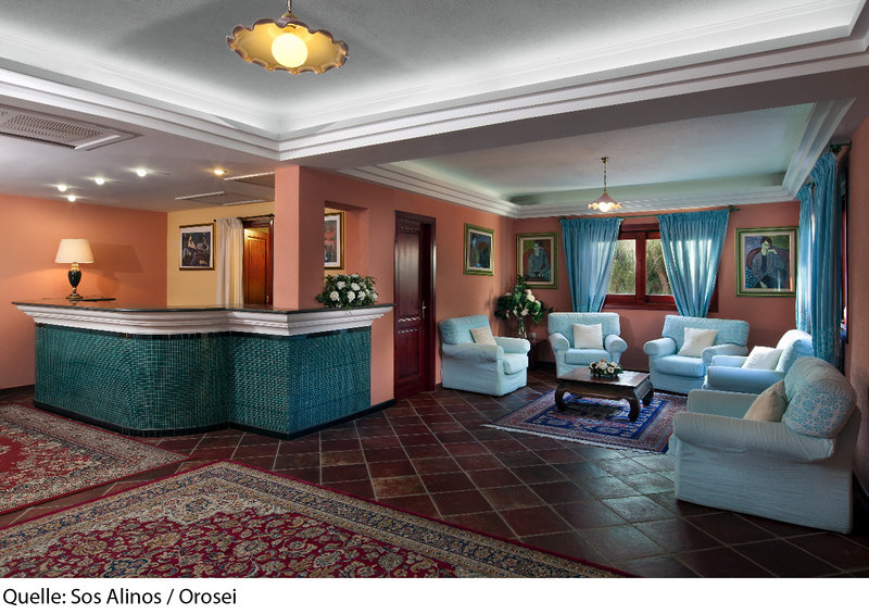 Residence Sos Alinos Lounge/Empfang