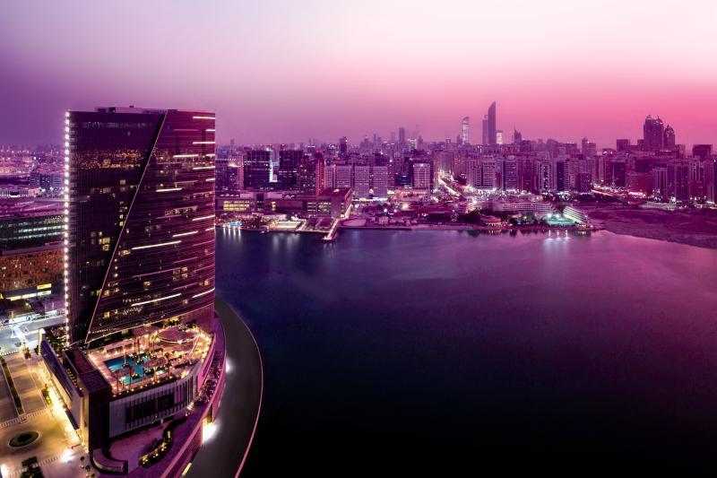 Rosewood Abu Dhabi Landschaft