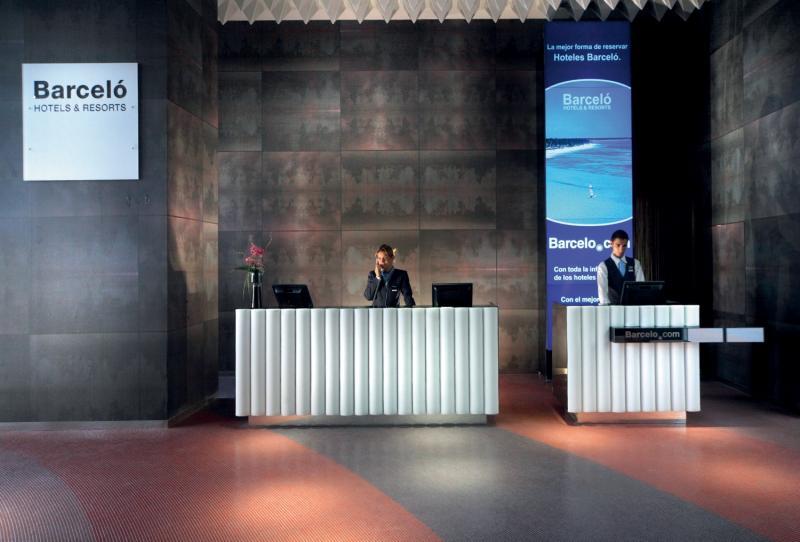 Barcelo Malaga Lounge/Empfang