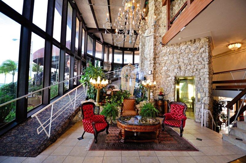 Sea Club Resort Lounge/Empfang