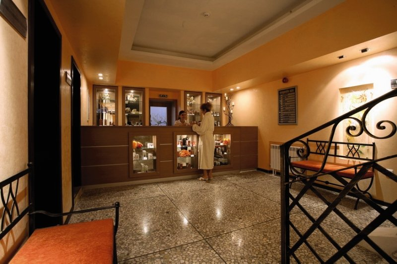 Magnolia Hotel & Spa Lounge/Empfang