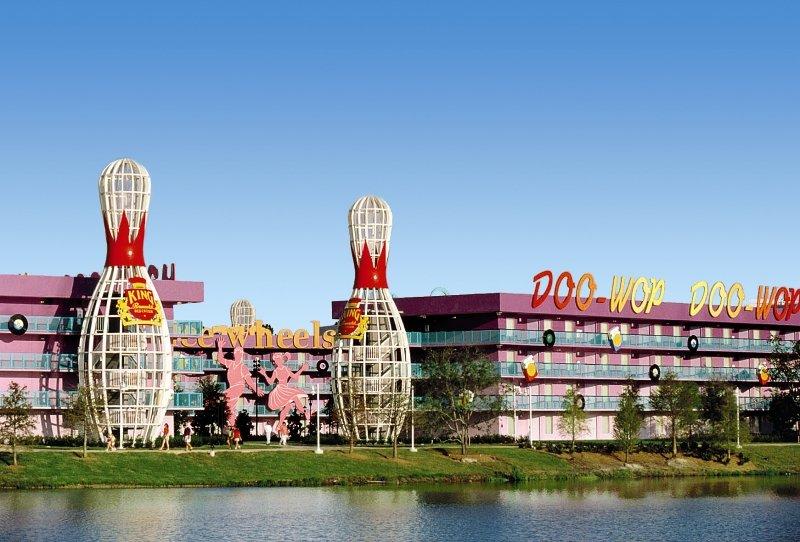 Disney´s Pop Century Resort Außenaufnahme